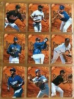 1996 Fleer Ultra Rawhide Insert Set (10) Reg. + Gold Medallion Ken Griffey Jr.