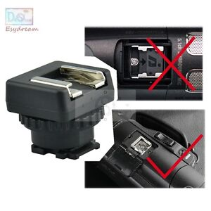 MSA-MIS Standard Hot Cold Shoe Adapter Converter 4 Sony Multi Interface Shoe DV