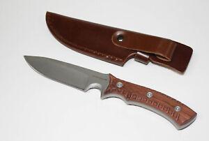 Survival Fixed Blade Knife Messer Braun