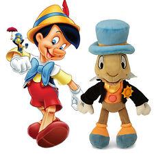 Disney Pinocchio Jimmy Jiminy Cricket 9″ Plush Mini Bean Bag Toy Xmas Gift Child