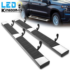 Running Boards For 19 22 Chevy Silveradosierra 1500 Crew Cab 6 Side Step Bars
