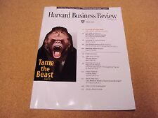 Harvard Business Review Magazine  Volume 82, Number 5, May 2004