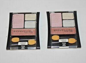 Maybelline Expert Wear Quad Eyeshadow 75Q Opal Lights Lot Of 2 Sealed + EYELINER