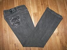 """AVIREX """"Live the Fly Life"""" Jeans - Jrs 1 - Boot Cut"""