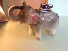 1e3f1ef7c5a Vintage 1964 Amico Japan Ceramic Elephant Lighter GOP Brand New In Box