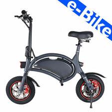 Monopattino elettrico con seduta e-Bike Scooter 350W Adulti Sterzo pieghevole