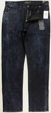 Lucky Brand 410 Athletic Fit Relaxed Fit Slim Leg Marbled Black Jeans 7M12383