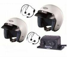 SPARCO CLUB J1 Helmet x 2, Intercom Set Terratrip Clubman, CHEAP DELIVERY WORLD!