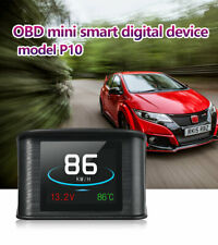 """Car 2.2"""" Inch HUD Display Smart Driving Computer Heads Up OBD 2 P10 Speedometer"""