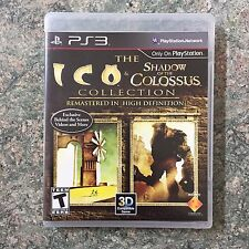 The ICO and Shadow of the Colossus Collection Playstation 3 PS3