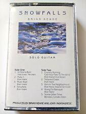 Brian Keane Snowfalls / Solo Guitar / Audiocassette