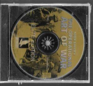 PC Video Game ,The Opérationnels Type De War,Non Inst ,Non Manuel,Scellé En CD