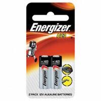 Energizer A23 12V Alkaline Batteries MN21 23A LRV08 E23A K23A 8LR23 V23GA 2 Pack