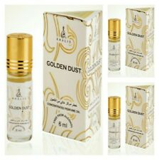 3 Golden Dust 6ml by Khalis Concentrated Perfume oil / Attar 3 x 6ml