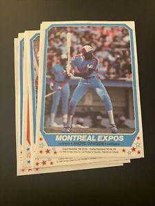 1982 OPC O-Pee-Chee Set of 24 Baseball Posters