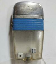 "1960's Scripto VU Lighter - Pair of Dice with Extra Rare ""Blue"" Band"