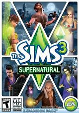 THE SIMS 3 HIDDEN SPRING for PC/MAC W Package insert and code