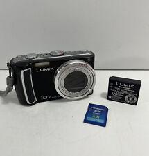 Panasonic LUMIX DMC-TZ5 9.1MP 10x Optical Zoom Lens Black / Silver (E1)