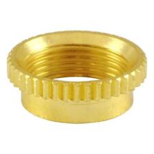Gold Deep Thread Vintage Nut for Switchcraft 3-Way USA Toggle Switches