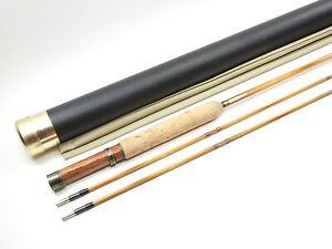 """Custom Payne 97 Taper Bamboo Fly Rod. Built on Chris Carlin Blank. 7' 3"""" 4wt."""