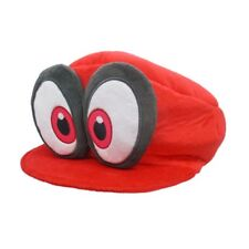 NEW Super Mario Odyssey Red Cappy Hat Plush  Gift