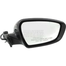 Fits Forte 14-16 Passenger Side Mirror Replacement - Heated - With Signal Lamp