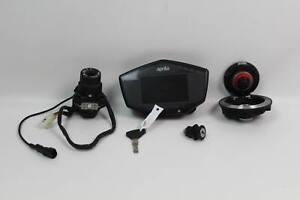 Aprilia Tuono 1100 Factory V4 17-19 Ignition Set Dash Gauge Cluster Key Gas Cap