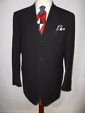 CANALI MADE IN ITALY BLACK  PURE WOOL  JACKET/BLAZER - SIZE UK 44R