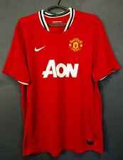 MEN NIKE FC MANCHESTER UNITED 2011/2012 FOOTBALL SOCCER SHIRT JERSEY SIZE XL/2XL