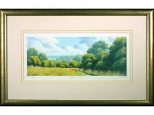 'Meadow Path' by Tom Leighton, Signed Artist Proof Print. Countryside