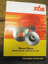 catalogue  SBS - disques de freins - brake discs - Bremsscheiben