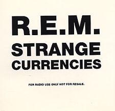 R.E.M. CD STRANGE CURRENCIES UK Promo REM PS
