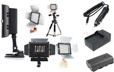 Yongnuo YN-160 II LED Video Light + NP-F970 6600mah Battery + Charger Kit