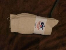 Military Issue DSCP Wool Boot Socks Winter Cold Weather Army Off White Size 13