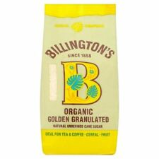 Billington's Organic Unrefined Natural Granulated Cane Sugar - 500g (1.1lbs)