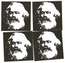 25 Karl Marx Aufkleber stickers Antifa SED DDR Communist Socialist Marxism RASH