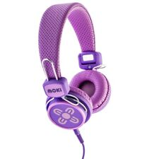 Moki Kids Safe Volume Limited Headphones - Pink & Purple