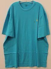 Polo Ralph Lauren Big and Tall Mens Aqua Blue Crewneck T-Shirt NWT 1XB