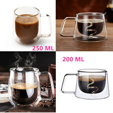 Nespresso Coffee Mug Espresso Tea Cup Thermal Glass Double Wall Lungo Mugs Hot 250 Ml 1-pc