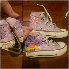 Converse Kids Shoes -custom hand painted my little pony (Fit Toddler Size 7)