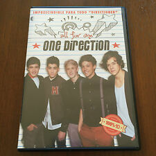 ONE DIRECTION  ALL FOR ONE - 1 DVD - 60 MIN - 2014 - SELECTA VISION - SPANISH ED
