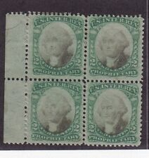 RB2a F-VF OG block of 4 ( dist OG ) scarce mint nice color cv $ ! see pic !