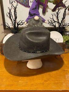 Resistol Western Shantung Cowboy Hat size 7 1/4 Made In USA