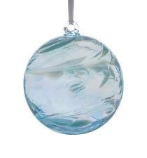 L'amicizia di vetro o STREGHE Ball, 10 cm Acquamarina by Sienna VETRO