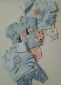 Baby boys girls clothes Spanish style 3 piece set 0-3 3-6 6-12  months