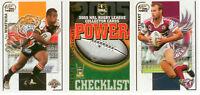 2005 Select NRL Power Series Trading Cards Full Base Card Set (181)**