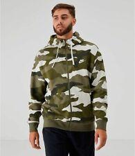 Nike Sportswear NSW Mens Club Fleece Camo Full-Zip Hoodie Size S M L 2XL $90