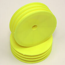 """Associated RC10 TEAM CAR Front Wheel 2.125"""" 1-Piece Florescent Yellow ASC6852Y"""