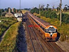 PHOTO  IRISH RAILWAY - CIE LOCO NO  6103 128 CHERRYVILLE 01.09.1991