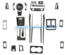 Real Carbon Fiber Car Interior Kit Cover Trim For Jaguar F-Pace X761 2016-2019